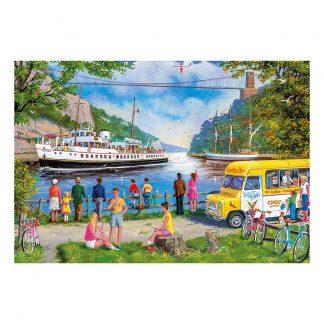 Gibsons Clifton Bridge, Bristol 500 Piece Jigsaw
