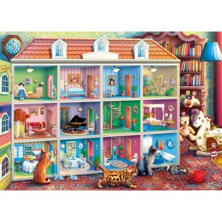 Gibsons Curious Kittens 1000 Piece Jigsaw