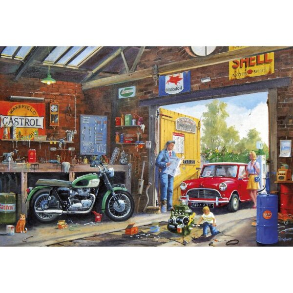 Gibsons Daddy's Little Helper 500 Piece Jigsaw