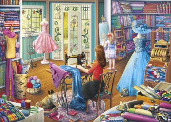 Gibsons Dressmaker's Daughter Jigsaw