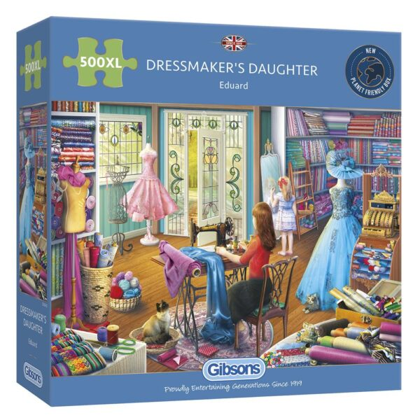 Gibsons Dressmaker's Daughter 500 XL Piece Jigsaw