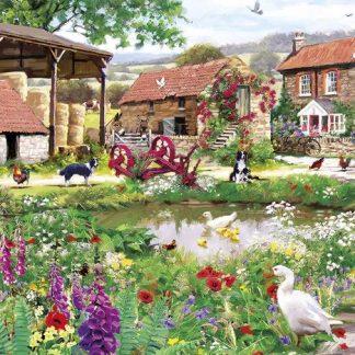 Gibsons Duckling Farm 636 Piece Jigsaw