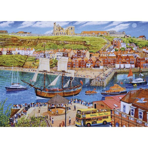 Gibsons Endeavour Whitby 1000 Piece Jigsaw