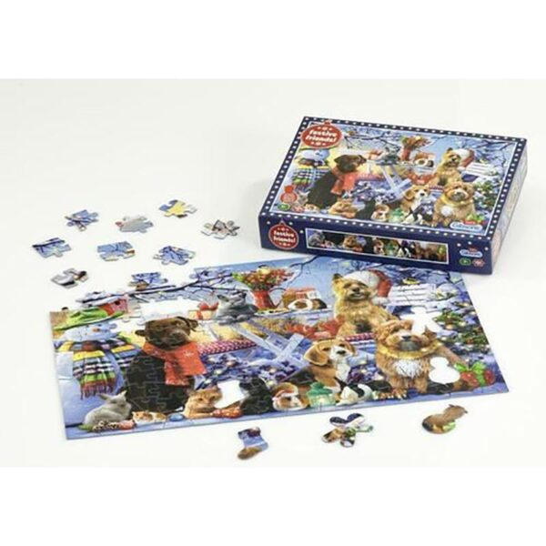 Gibsons Festive Friends 150pc Jigsaw Puzzle 1