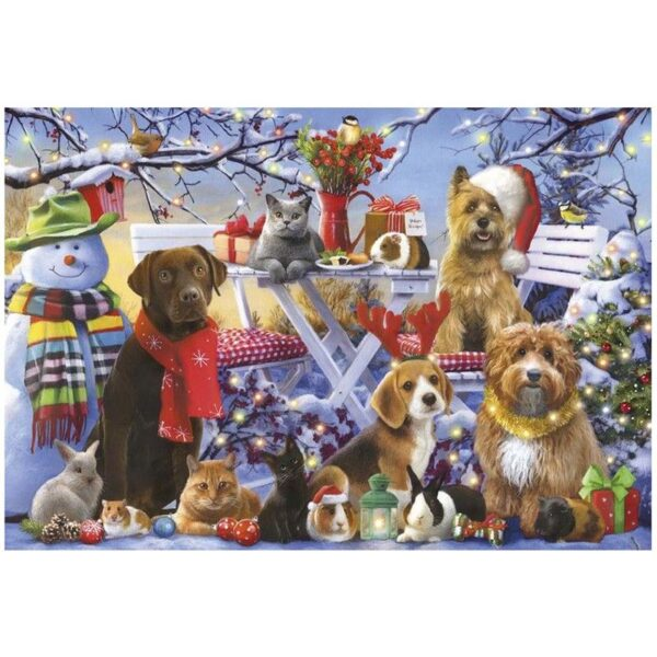 Gibsons Festive Friends 150pc Jigsaw Puzzle