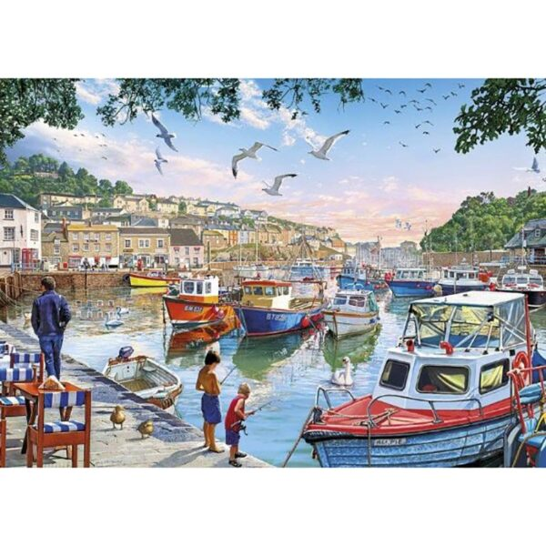 Gibsons First Catch 500XL pc Jigsaw Puzzle