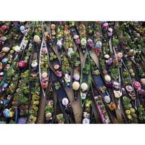 Gibsons Floating Market 500pc Jigsaw