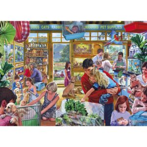 Gibsons Furry Friends 1000 Piece Jigsaw