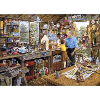 Gibsons Grandad's Workshop 1000 Piece Jigsaw