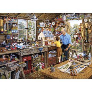 Gibsons Grandads Workshop Jigsaw