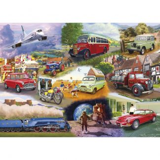 Gibsons Iconic Engines 1000 Piece Jigsaw