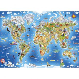 Gibsons JIgmap - Our World 250 Piece Jigsaw