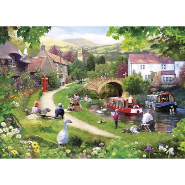 Gibsons Life In The Slow lane 1000 Piece Jigsaw