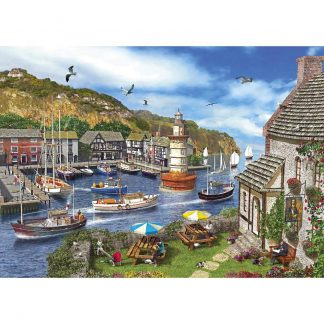 Gibsons Lighthouse Bay 1000 Piece Jigsaw
