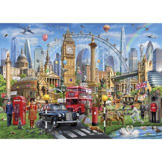 Gibsons London Calling 1000 Piece Jigsaw
