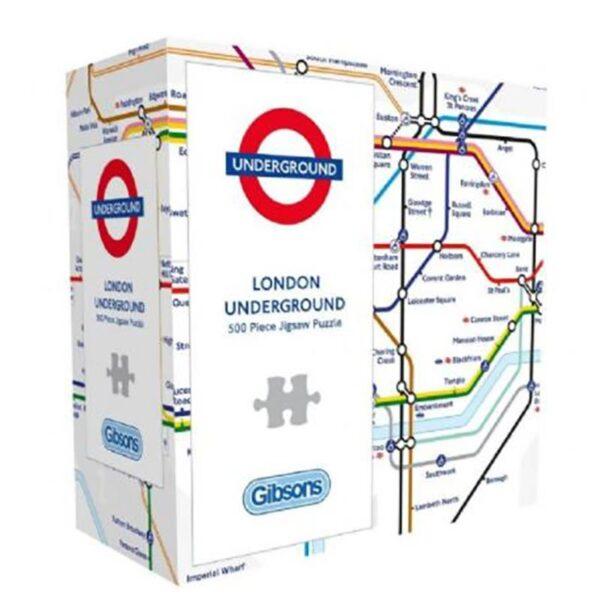 Gibsons London Underground 500 Piece Jigsaw Puzzle