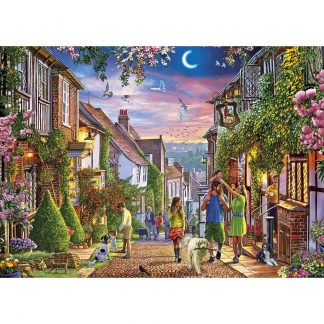 Gibsons Mermaid Street, Rye 1000 Piece Jigsaw
