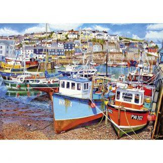 Gibsons Mevagissey Harbour 1000 Piece Jigsaw