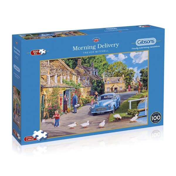 Gibsons Morning Delivery 500 XL Piece Jigsaw