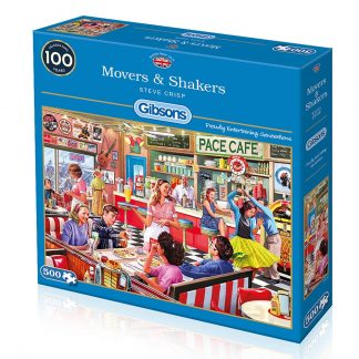 Gibsons Movers & Shakers 500 Piece Jigsaw