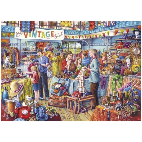Gibsons Nearly New 500 XL Jigsaw Puzzle
