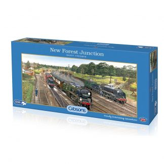 Gibsons New Forest Junction 636 Piece Jigsaw