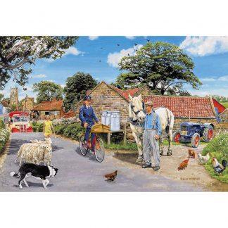 Gibsons Olive House Farm 100 XXL Piece Jigsaw