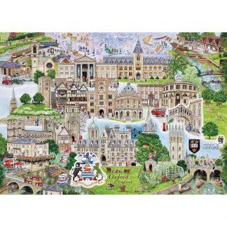 Gibsons Oxford 1000 Piece Jigsaw