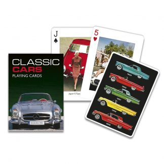 Gibsons Piatnik Classic Cars Playing Cards