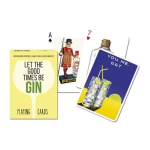 Gibsons Piatnik Gin Playing Cards