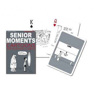 Gibsons Piatnik Senior Moments Playing Cards