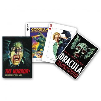 Gibsons Piatnik The Horror! Playing Cards