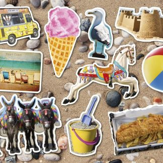 Gibsons Piecing Together At The Seaside 12 XL Piece Jigsaw