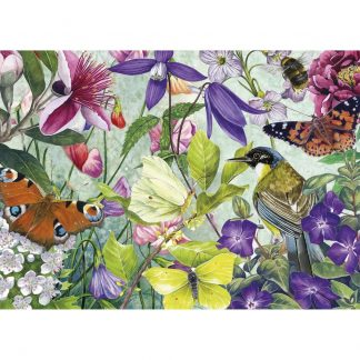 Gibsons Piecing Together The Garden 24 XL Piece Jigsaw