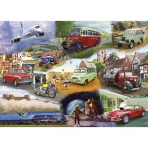 Gibsons Piecing Together - Transport 24 XL Piece Jigsaw