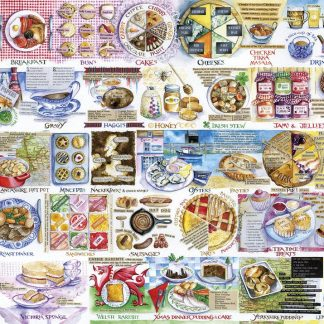 Gibsons Pork Pies & Puddings 1000 Piece Jigsaw