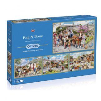 Gibsons Rag & Bone 4 x 500 Piece Jigsaws