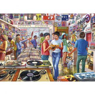 Gibsons Retro Records 1000 Piece Jigsaw