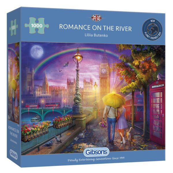 Gibsons Romance On The River 1000 Piece Jigsaw