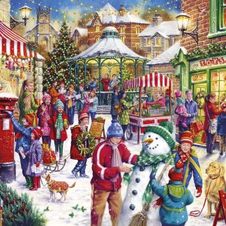 Gibsons Secret Santa Christmas Limited Edition 1000 Piece Jigsaw