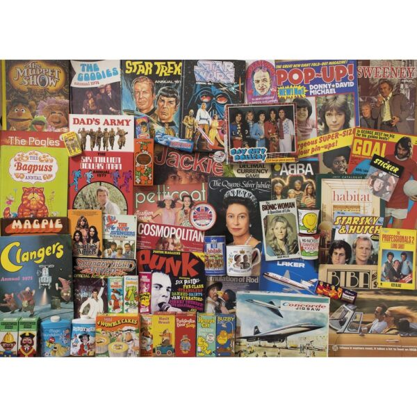Gibsons Spirit Of The 70s 1000 Piece Jigsaw