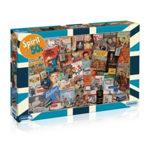 Gibsons Spirit of the 50's 1000pc Jigsaw Puzzle