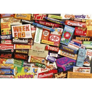 Gibsons Sweet Memories 1970s 500 Piece Jigsaw Gift Tin