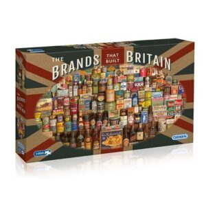 Gibsons The Brands That Built Britain 1000 Piece Jigsaw Puzzle 1