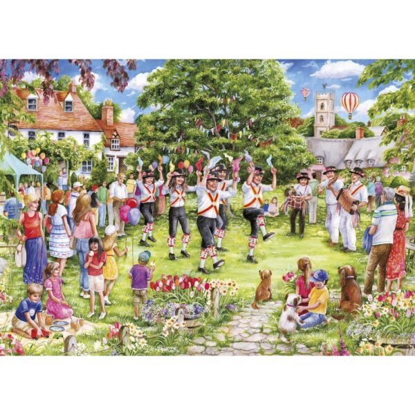 Gibsons The Country Dance 1000 Piece Jigsaw