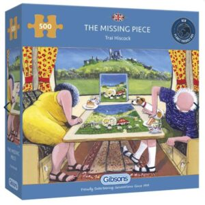 Gibsons The Missing piece 500pc Jigsaw Puzzle