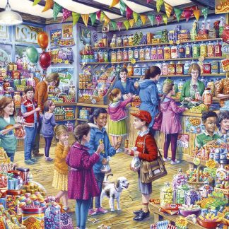 Gibsons The Old Sweet Shop 1000 Piece Jigsaw
