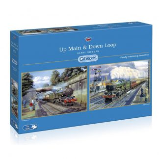 Gibsons Up Main & Down Loop 2 x 500 Piece Jigsaw