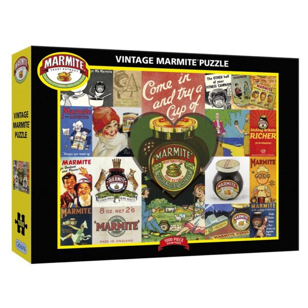 Gibsons Vintage Marmite 1000 Piece Jigsaw