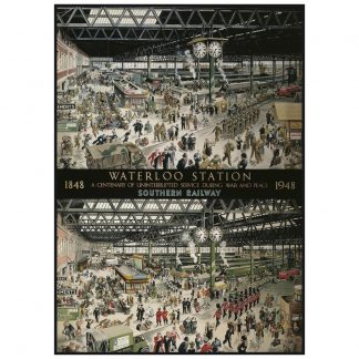 Gibsons Waterloo Station 1000 Piece Jigsaw